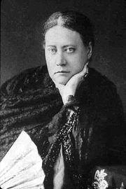 Е. П. Блаватская.