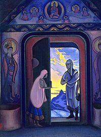 картина, посвященная Е. П. Блаватской